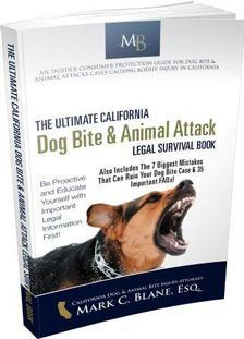 The Best California Dog Bite & Animal Attack Legal Survival Book