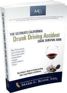 California Drunk Driving Book for Accident & Injured Victims