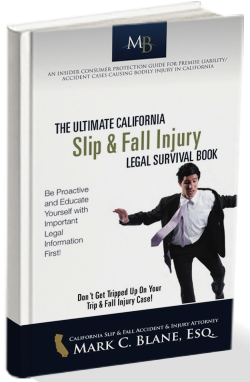 FREE Book: The Ultimate California Slip & Fall Injury Legal Survival Book