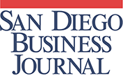 Logo Recognizing The Law Offices of Mark C. Blane, APC's affiliation with San Diego Business Journal