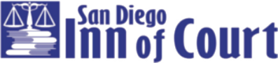 Logo Recognizing The Law Offices of Mark C. Blane, APC's affiliation with San Diego Inn of Court