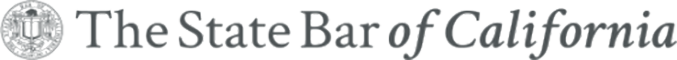Logo Recognizing The Law Offices of Mark C. Blane, APC's affiliation with the State Bar of CA